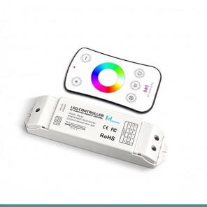 Controladora Com Função Wireless + controle remoto / RGBW // 5A -4CH 60W (12V) & 120W (24V)