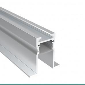 EKPF100 - Perfil de alumínio embutir